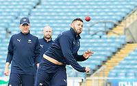 Picture by Allan McKenzie/SWpix.com - 20/04/2018 - Cricket - Specsavers County Championship - Yorkshire County Cricket Club v Nottinghamshire County Cricket Club - Emerald Headingley Stadium, Leeds, England - Tim Bresnan.