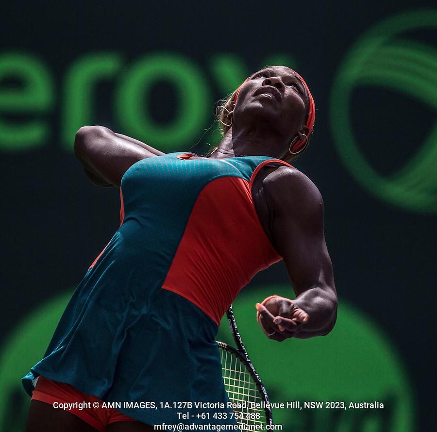 SERENA WILLIAMS (USA)<br /> Tennis - Sony Open -  Crandon Park - Miami - Florida - USA - ATP-WTA - 2014  - USA  -  27 March 2014. <br /> <br /> &copy; AMN IMAGES