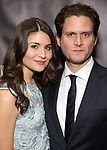 Phillipa Soo, Steven Pasquale attends 32nd Annual Lucille Lortel Awards at NYU Skirball Center on May 7, 2017 in New York City.