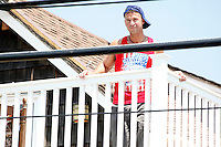 The Situation pictured on the deck of the shore house during filming of the last day before the cast leaves for good on The Jersey Shore Show season six in Seaside Heights, New Jersey on July 4, 2012  © Star Shooter / MediaPunchInc *NORTEPHOTO*<br /> **SOLO*VENTA*EN*MEXICO**<br /> **CREDITO*OBLIGATORIO** <br /> **No*Venta*A*Terceros**<br /> **No*Sale*So*third**<br /> *** No*Se*Permite Hacer Archivo**<br /> **No*Sale*So*third**