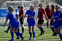 Women's Premier Football - Powerex Petone Premier v Brooklyn Northern United at Petone Memorial Park, Lower Hutt, New Zealand on Saturday 5 May 2018.<br /> Photo by Jo Hawes. <br /> www.photowellington.photoshelter.com