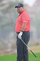 Kevin Stadler (USA) tees off the 6th tee during Saturay's Round 3 of the 2014 BMW Masters held at Lake Malaren, Shanghai, China. 1st November 2014.<br /> Picture: Eoin Clarke www.golffile.ie