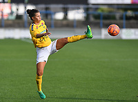 20190813 - DENDERLEEUW, BELGIUM : LSK's Cathrine Dekkerhus  pictured during the female soccer game between the Greek PAOK Thessaloniki Ladies FC and the Norwegian LSK Kvinner Fotballklubb Ladies , the third and final game for both teams in the Uefa Womens Champions League Qualifying round in group 8 , Tuesday 13 th August 2019 at the Van Roy Stadium in Denderleeuw  , Belgium  .  PHOTO SPORTPIX.BE for NTB | DAVID CATRY