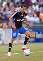 Ramiro Corrales controls the ball. San Jose 0, Los Angeles 3, McAfee Coliseum, Oakland, California, Saturday, June 14, 2008.