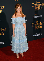 Kristin Burr at the world premiere of Disney's &quot;Christopher Robin&quot; at Walt Disney Studios, Burbank, USA 30 July 2018<br /> Picture: Paul Smith/Featureflash/SilverHub 0208 004 5359 sales@silverhubmedia.com