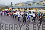Pirate fancy dress parade led by the Killorglin Pipe Band at the Portmagee Sea Shanty Festival on Sunday.