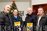 L-R Ed O'Connor, Michael Hickey, Michael Fitzgerald and Padraig Teehan at the launch of the Stacks GAA book last Friday night in the Stacks clubhouse, Connolly Park, Tralee.
