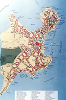 Utopia:  Boston map--1770.  ATLAS OF EARLY AMERICAN HISTORY.