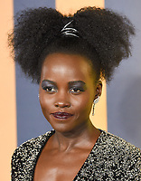 """Lupita Nyong'o<br /> arriving for the """"Black Panther"""" premiere at the Hammersmith Apollo, London<br /> <br /> <br /> ©Ash Knotek  D3376  08/02/2018"""