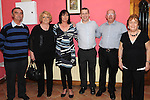 Kieran and Pauline Feehan celebrating their 25th wedding anniversary in the Grange Inn Grangebellew with parents Kieran and Eileen Feehan and Lawrence and Eileen Kirwan. Photo: Colin Bell/pressphotos.ie