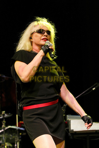 AUSTIN, TX - MARCH 15: Deborah Harry of the band Blondie performs during Perez Hilton's One Night In Austin event at the Austin Music Hall during SXSW. Austin, Texas, USA. March 15, 2014.  <br /> CAP/MPI/RTN/MOO<br /> &copy;RTNMoore/MediaPunch/Capital Pictures