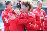 Masayo Imura (JPN), <br /> AUGUST 19, 2016 - Synchronized Swimming : <br /> Teams Medal Ceremony <br /> at Maria Lenk Aquatic Centre <br /> during the Rio 2016 Olympic Games in Rio de Janeiro, Brazil. <br /> (Photo by Yohei Osada/AFLO SPORT)