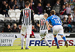 St Mirren v St Johnstone...19.10.13      SPFL<br /> Jim Goodwin misses his penalty kick<br /> Picture by Graeme Hart.<br /> Copyright Perthshire Picture Agency<br /> Tel: 01738 623350  Mobile: 07990 594431
