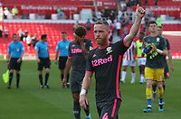 Leeds United's Adam Forshaw applauds the fans at the final whistle <br /> <br /> Photographer Stephen White/CameraSport<br /> <br /> The Premier League - Stoke City v Leeds United - Saturday August 24th 2019 - bet365 Stadium - Stoke-on-Trent<br /> <br /> World Copyright © 2019 CameraSport. All rights reserved. 43 Linden Ave. Countesthorpe. Leicester. England. LE8 5PG - Tel: +44 (0) 116 277 4147 - admin@camerasport.com - www.camerasport.com