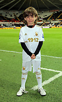 Sunday, 28 November 2012<br /> Pictured: Children Mascots.<br /> Re: Barclays Premier League, Swansea City FC v West Bromwich Albion at the Liberty Stadium, south Wales.
