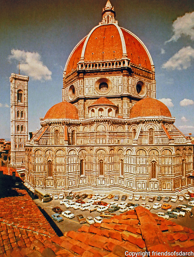 Early Renaissance/Florence. The image is an example of the style of architecture featured in this gallery.