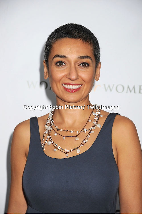 "Zainab Salbi attends The New York Premiere of Angelina Jolie's movie .."" In the Land of Blood and Honey"" on December 5, 2011 at The School of Visual Arts Theatre in New York City."