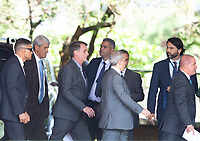 BRASILIA, DF, 28.11.2018 - BOLSONARO-CCBB- O presidente eleito, Jair Bolsonaro, durante entrevista no CCBB, onde ocorre a transição do Governo, nesta quarta, 28.(Foto:Ed Ferreira / Brazil Photo Press)