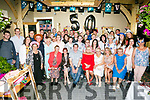 Ann McGinley, Tralee Celebrates her 50th Birthday with family and friends at Gally's on Saturday