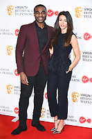 Ore Oduba &amp; Michelle Keegan at the announcement of the nominations for the BAFTA TV Awards 2018, London, UK. <br /> 04 April  2018<br /> Picture: Steve Vas/Featureflash/SilverHub 0208 004 5359 sales@silverhubmedia.com