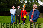 Athea Tidy Towns members stand in the walk area by the river on Monday.  Front: Damien Ahern.<br /> Back l to r: John Scanlon, Jim and Liz Dunne.
