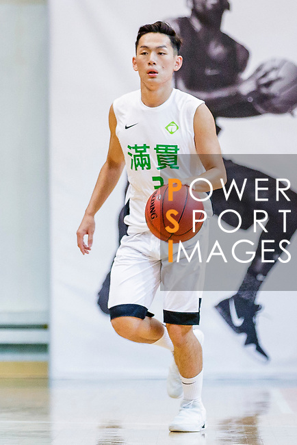 Ho Yee Yeung #3 of Tycoon Basketball Team dribbles the ball up court during the Hong Kong Basketball League game between Tycoon vs Eagle at Southorn Stadium on May 11, 2018 in Hong Kong. Photo by Yu Chun Christopher Wong / Power Sport Images