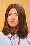Ayana Onozuka, APRIL 21, 2013 : The Building up Team Japan 2013 for Sochi at Ajinomoto NTC, Tokyo, Japan. (Photo by AFLO SPORT)