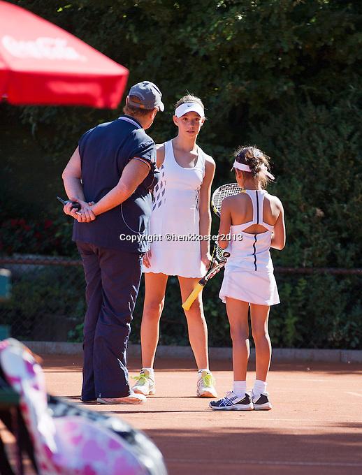 05-08-13, Netherlands, Dordrecht,  TV Desh, Tennis, NJK, National Junior Tennis Championships, <br /> <br /> <br /> Photo: Henk Koster