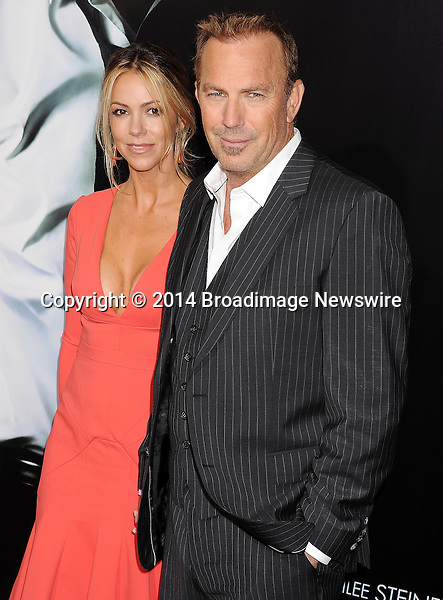 Pictured: Kevin Costner; Christine Baumgartner<br /> Mandatory Credit &copy; Joseph Gotfriedy/Broadimage<br /> &quot;3 Days To Kill&quot; - Los Angeles Premiere<br /> <br /> 2/12/14, Hollywood, California, United States of America<br /> <br /> Broadimage Newswire<br /> Los Angeles 1+  (310) 301-1027<br /> New York      1+  (646) 827-9134<br /> sales@broadimage.com<br /> http://www.broadimage.com