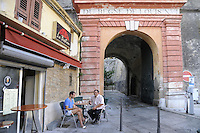 - Corsica, .Bastia, entrance of the Citadel....- Corsica,  Bastia, ingresso della Cittadella