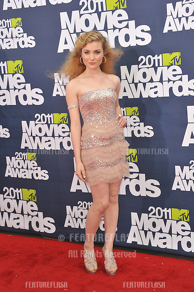 Skyler Samuels at the 2011 MTV Movie Awards at the Gibson Amphitheatre, Universal Studios, Hollywood..June 5, 2011  Los Angeles, CA.Picture: Paul Smith / Featureflash