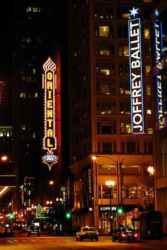 Oriental Theatre in Chicago, IL.