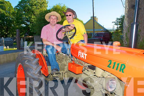Kilflynn Rally: Attending the Kilflynn Vintage Tractor & Car Rally in Kilflynn on Saturday were Martin Quirke, Camp & Tommy Kennedy, Castlegregory.