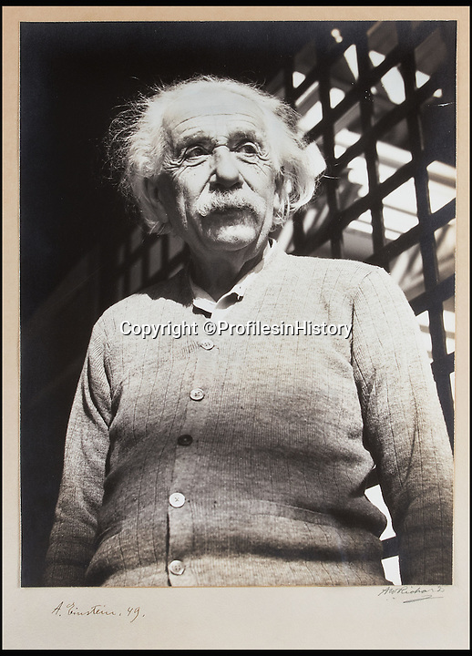 BNPS.co.uk (01202 558833)<br /> Pic: ProfilesinHistory/BNPS<br /> <br /> Albert Einstein at Princeton University - where the letter was written.<br /> <br /> An explosive unseen letter from Albert Einstein berating Hitler, the US Government, Vichy France and General Franco has come to light.<br /> <br /> The private letter written in 1942 controversially criticises the country that saved him from Hitler as being a 'Government controlled...by near fascist financiers' and not doing enough to defeat the Nazis.<br /> <br /> The genius thought that before America entered the Second World War the country was being run by a super-rich fascist elite who sided with the Nazi regime and the US government was not inclined to act because of it.<br />  <br /> And most damningly Einstein believed if it was not for Hitler's &quot;lunacy&quot; the US would have ultimately left the Third Reich in peace. <br /> <br /> Profile in History - April 18th - &pound;30,000