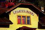 The Pilatus railway (Pilatusbahn) is a mountain railway near Lucerne, Switzerland and is the steepest rack railway in the world, with a maximum gradient of 48%.