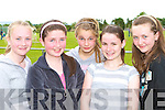 Adrianne McEllistrim, Roisin O'Connor, Florence Mitchell, Elaine Doody and Aisling McCarthy at the Castleisland Desmonds GAA funday on Sunday    Copyright Kerry's Eye 2008