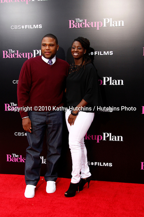 "Anthony Anderson.arrives at ""The Back-up Plan"" Premiere.Regency Village Theater.Westwood, CA.April 21, 2010.©2010 Kathy Hutchins / Hutchins Photo..."