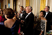 United States President Barack Obama gives a toast during the State Dinner in the East Room of the White House, Wednesday, May 19, 2010. .Mandatory Credit: Pete Souza - White House via CNP