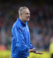 FUSSBALL   1. BUNDESLIGA   SAISON 2012/2013  5. SPIELTAG  26.09.2012 SC Freiburg - SV Werder Bremen Trainer Christian Streich (SC Freiburg)