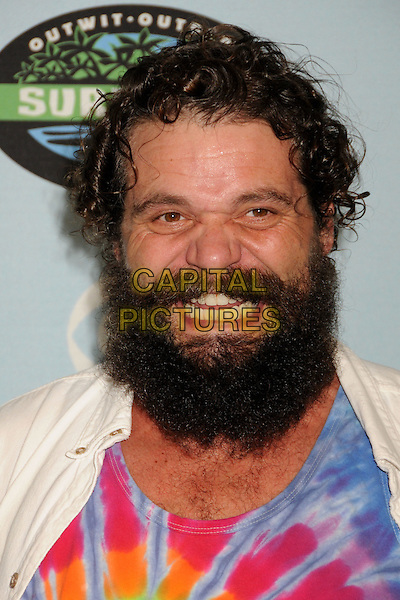 "RUPERT BONEHAM .""Survivor"" 10 Year Anniversary Party held at CBS Studios, Los Angeles, California, USA, 9th January 2010..portrait headshot beard facial hair teeth mouth open .CAP/ADM/BP.©Byron Purvis/AdMedia/Capital Pictures."