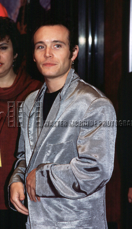 Adam Ant at the Hard Rock Cafe in New York City on 11/1/1985