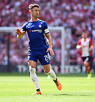 Gary Cahill of Chelsea during the FA cup semi-final match at Wembley Stadium, London. Picture date 22nd April, 2018. Picture credit should read: Robin Parker/Sportimage