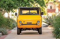 BNPS.co.uk (01202 558833)<br /> Pic: RMSothebys/BNPS.<br /> <br /> Not-so-rugged off roader revs up for auction...<br /> <br /> This quirky-looking Italian off-road microcar from the 1960's has emerged for sale at auction for £33,000 ($40,000).<br /> <br /> The bizarre Ferves Ranger is one of just 50 survivors of its kind and is powered by a tiny 18-horsepower engine based on Fiat 500 parts.<br /> <br /> Despite its lack of power the motor is incredibly desirable and has the capability to cover terrain that no other microcar could dream of - and unlike a Ranger Rover, if the tiny motor gets stuck you can just push it out on your own.