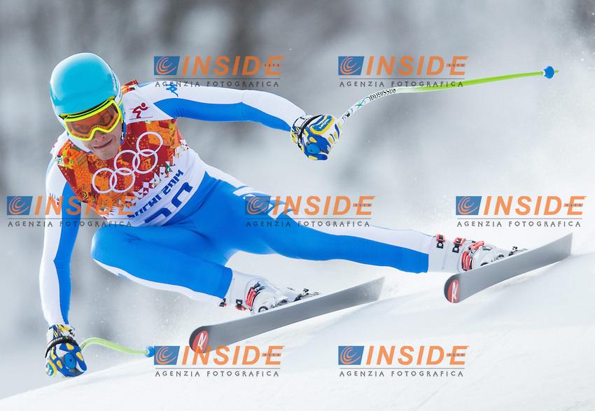 Christof Innerhofer <br /> 09.02.2014, Rosa Khutor Alpine Resort, Krasnaya Polyana, RUSSIA, Sochi 2014 Olimpiadi Invernali. Olympic Winter Games <br /> Discesa Libera uomini<br /> Foto EXPA/ Johann Groder Insidefoto