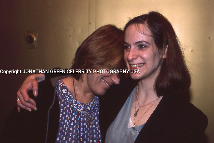 Amanda Plummer &amp; Tammy Grimes 1987 By<br /> Jonathan Green
