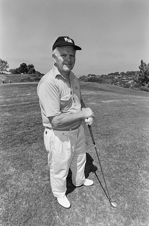 Rep. Joseph M. McDade, R-Pa., at Torrey Pines Golf Course, in 1996. (Photo by Laura Patterson/CQ Roll Call)