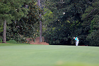 Emiliano Grillo (ARG) on the 18th fairway during the 2nd round at the The Masters , Augusta National, Augusta, Georgia, USA. 12/04/2019.<br /> Picture Fran Caffrey / Golffile.ie<br /> <br /> All photo usage must carry mandatory copyright credit (© Golffile | Fran Caffrey)