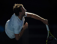 Adrian Mannari..Tennis - Australian Open - Grand Slam -  Melbourne Park  2013 -  Melbourne - Australia - Tuesday 15th January  2013. .© AMN Images, 30, Cleveland Street, London, W1T 4JD.Tel - +44 20 7907 6387.mfrey@advantagemedianet.com.www.amnimages.photoshelter.com.www.advantagemedianet.com.www.tennishead.net