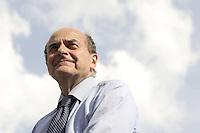 Roma, 10 Giugno 2011.Piazza del Popolo.Io Voto! In piazza per la fine della campagna referendaria su nucleare, acqua pubblica e legittimo impedimento.Pie Luigi Bersani