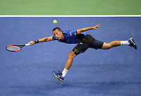 FLUSHING NY- SEPTEMBER 04: ***NO NY DAILIES***  Roger Federer Vs Philipp Kohlschreiber: Philipp Kohlschreiber during their match on Arthur Ashe Stadium during the US Open at the USTA Billie Jean King National Tennis Center on September 4, 2017 in Flushing Queens. Credit: mpi04/MediaPunch